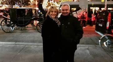 northern irish tv presenter eamonn holmes celebrates 60th birthday