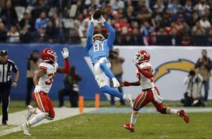 Chargers' Williams emerges as deep threat, but no touchdowns
