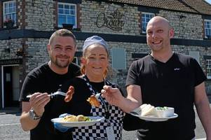 keynsham pub the crown inn offering free food and showers to homeless people this winter