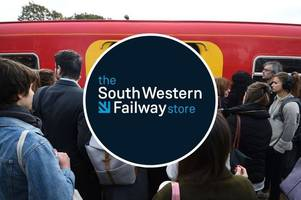 spoof south western railway online store set up - 'expect delays with every order'
