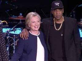 """Even Hillary Clinton Put Respect On JAY-Z's Name W/ Throwback Beyoncé Pic: """"An Icon Turns 50"""""""