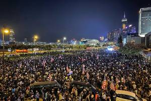 hong kong residents living with tear gas worry of effects