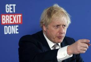 johnson has 10-point lead over labour before election - poll