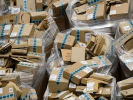 amazon says deliveries are back up to speed after complaints about package delays (amzn)