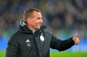 Arsenal destroyed by rival fans as Brendan Rodgers signs new Leicester contract