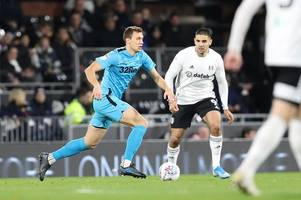 'we have to wait' - derby county injury list ahead of blackburn rovers clash