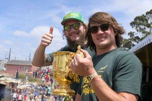Franco Mostert: How it feels to win the Rugby World Cup, meeting Prince Harry and returning to life at Gloucester Rugby