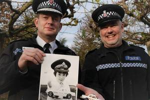 police officer who first applied to be cop aged 9 finally retires - three decades after bagging dream job