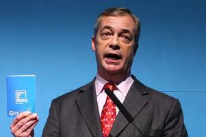 The real reason Nigel Farage has pulled out of Brexit Party rally in Westminster