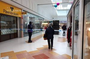 grays shopping centre incident: woman 'unable to see for 15 minutes' after 'cs gas' sprayed at shopping centre