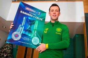 callum mcgregor recalls early celtic vs rangers memories as he makes edouard and morelos claim