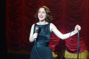 rachel brosnahan talks perfecting her stand-up game as 'mrs. maisel': 'we're learning together'