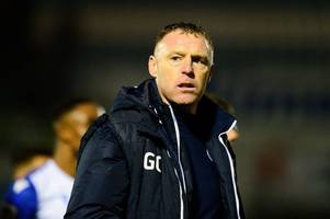 'the christmas party is cancelled' – graham coughlan reveals half time message to bristol rovers players after remarkable comeback