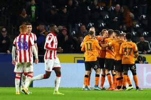hull city 2-1 stoke city live - report and reaction as bowen brace condemns potters to defeat