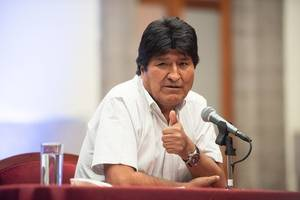 evo morales heads to cuba amid talk of an eventual comeback