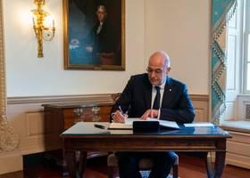 libya's ambassador given 72-hour deadline to leave greece, fm dendias says