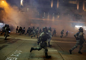 Hong Kong police to take both 'hard,' 'soft' approaches against protests