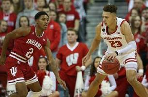 King has career-high 24 points, Badgers beat Indiana 84-64