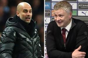 ole gunnar solskjaer's savage jose mourinho and pep guardiola dig hailed by man utd fans