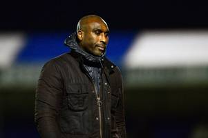 'i don't understand it': sol campbell furious at southend united players after bristol rovers loss