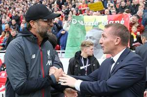 this is how much brendan rodgers is paid compared to jurgen klopp, jose mourinho and others - report