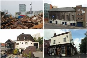 history demolished - iconic birmingham buildings that are now a pile of rubble