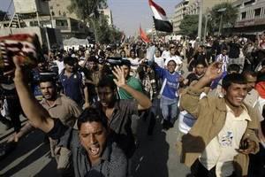 iraq protests escalate despite rising toll