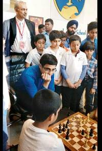 Viswanathan Anand: Hard work and talent complement each other