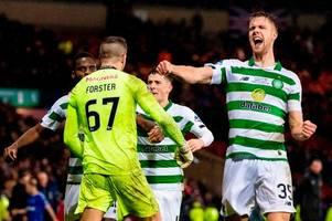 kristoffer ajer makes big fraser forster claim as celtic goalkeeper's heroics secure betfred cup glory
