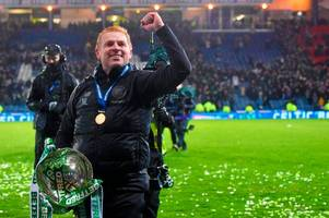 neil lennon hails 'world class' celtic keeper fraser forster as the 'great wall' stands tall