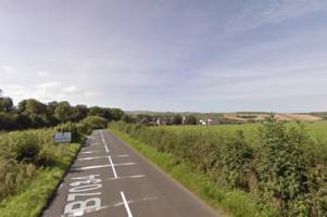pensioner dies four days after car crashed into hedge on ayrshire road