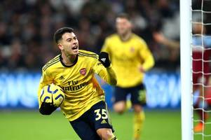 arsenal player ratings as martinelli rescues ljungberg from xhaka disasterclass