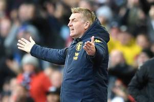 Irritated Aston Villa boss Dean Smith makes VAR claim over Leicester City goal