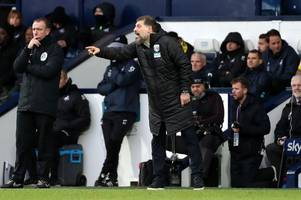 slaven bilic's brilliant five word response to west brom's mounting promotion pressure