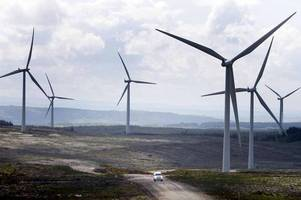 wild weekend sets new wind power record for uk with five times output expected from nuclear plant