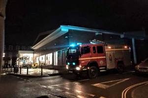 sainsbury's roof 'blown off' as storm atiyah batters the west country