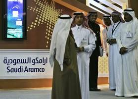 aramco's stock will have plenty of support when trading begins