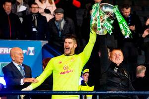 fraser forster's celtic future up in the air as neil lennon weighs up permanent deal