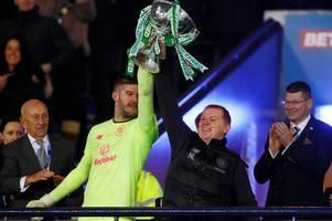 fraser forster discusses celtic future as goalkeeper outlines special neil lennon bond