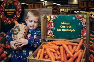Morrisons giving customers free bags of wonky carrots to help with Rudolph tradition