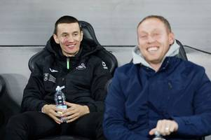 passionate swansea city boss steve cooper explains bersant celina situation and what he told players at frank west brom meeting