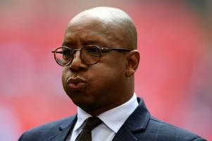 ian wright reacts to arsenal's first-half vs west ham and launches freddie ljungberg defence