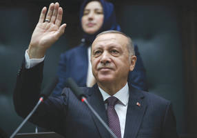 erdogan bashes israel, calls on muslims to unite against the west