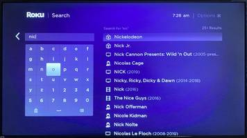 how to use roku search to find content across channels