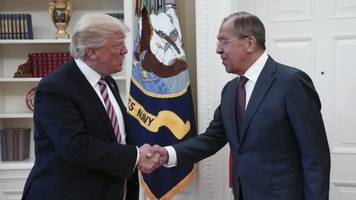 president trump to meet with russian foreign minister sergey lavrov