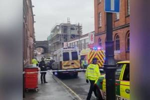 Live updates - armed police seal off Water Street in the Jewellery Quarter