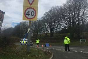 live updates after crash on the a38 at glynn valley