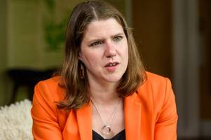 jo swinson at bath rally before campaigning in jacob rees-mogg's north east somerset - live updates