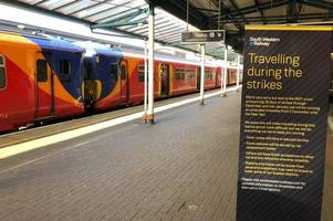 union sets out plan to end south western railway strike and stop train travel chaos
