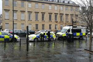 Live updates: Large police presence spotted near Fashion Museum in Bath